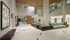 Stair - Sheraton Dallas North. Interior Architectural Design as consultant to MMA