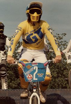 Vintage BMX... Riders ready, peddles ready, GO!