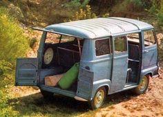 Renault Estafette portas traseiras