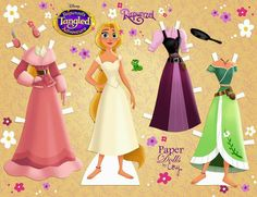 An update of my Rapunzel doll- new outfits AND new hairstyle! Can you spot Pascal? 😂 Her season 2 outfit is super cute and… Disney Princess Dress Up, Disney Rapunzel, Princesa Disney, Frozen Paper Dolls, Disney Paper Dolls, Holiday Outfits, New Outfits, Imprimibles Toy Story Gratis, Paper Dolls Clothing