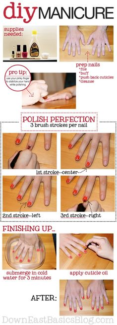 Diy manicure  Definitely trying this