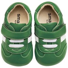 baby boy green shoes