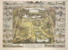 Historical Pics of Central Park - from the NYPL Digital Collections #TeachNYPL