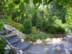 Japan Garden, Living Off The Land, Backyard, Patio, Summer Garden, Dream Garden, Garden Paths, Garden Inspiration, Landscape Design