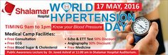 World Hypertension Day 2016 in Lahore http://allevents.pk/events/World-Hypertension-Day-2016-in-Lahore #WorldHypertensionDay       #Lahore