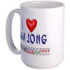I LOVE MAH JONG Mug on CafePress.com