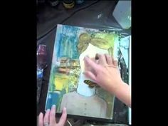 One Painting, Start to Finish by Kelly Rae Roberts - YouTube