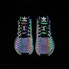 Free Shipping Adidas Originals ZX Flux Xenopeltis Snake Shoes