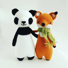 Tall Panda amigurumi pattern - Amigurumipatterns.net