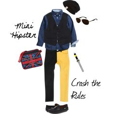 """""""Mini Hipster Style for Boys"""" by goldberg117 on Polyvore #shampoodle #h #pepejeans #boysfashion"""