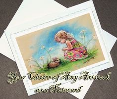 Note Card Frameable Art 4x6 print Choose any by LaurieShanholtzer, $3.50