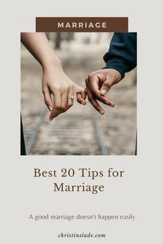 Cultivating a good marriage is not easy and no marriage can thrive if it is not given enough intentional attention to grow. Check out these 20 tips to help your marriage.