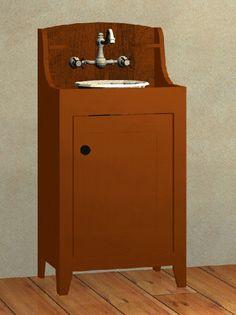 Small Shaker Washstand Vanity