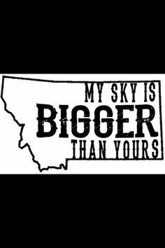 Bigger sky in Montana North Dakota, Wyoming, Idaho, Montana Homes, Montana Living, Missouri, Montana Winter, Whitefish Montana, Big Sky Country