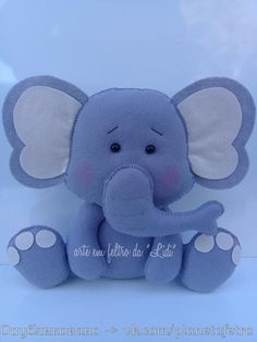 1 million+ Stunning Free Images to Use Anywhere Felt Ornaments Patterns, Felt Patterns, Elephant Mobile, Baby Elephant, Elephant Balloon, Baby Crafts, Felt Crafts, Shower Bebe, Felt Mobile