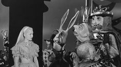 from the 1949 Anglo-French Alice in Wonderland film