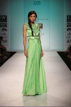 Elegant Dress by Rinku Sobti  #fdci #wifw SS14 #elegant #loveit