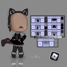 Anime Wolf Girl, Cool Anime Girl, Bad Girl Outfits, Club Outfits, Character Outfits, Cute Anime Character, Creepypasta Cute, Manga Clothes, Clothing Sketches