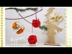 """""""Ondina la pallina bellina"""": decorazione natalizia in feltro senza cucire & senza incollare - YouTube"""