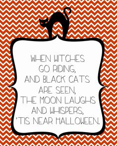 When Witches Go Riding -- Super adorable FREE Halloween Print from Sweet Rose Studio!