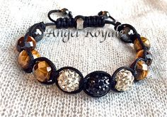 ADAM & EVE TIGER EYE STONE.★★$5.00 off entire purchase till 2014-12-15 Use Code SUPERSALE at check out FREE SHIPPING
