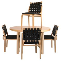 Shop dining room sets and other modern, antique and vintage tables from the world's best furniture dealers. Antique Dining Room Sets, Dining Set, Dining Chairs, Dining Table, Koti, Alvar Aalto, Sideboard Buffet, Vintage Table, Scandinavian Design