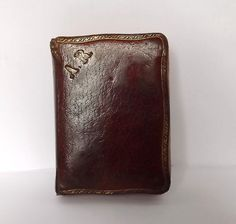 Leatherbound monogrammed missal book from France par MaisonMaudie, $14,00