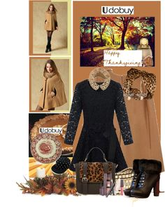 """""""November is for Thanksgiving"""" by anniecy on Polyvore"""