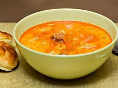 Hungarian Recipes, Cheeseburger Chowder, Thai Red Curry, Food And Drink, Fruit, Ethnic Recipes, Desserts, Soups, Tailgate Desserts