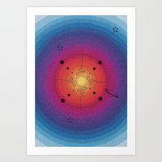 Cosmus Art Print by Sabine P. - $13.00