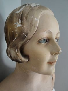Vintage glass eyed mannequin store display by thegraygarden, $1200.00