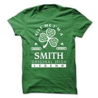 Kiss me I'm A SMITH  – St. Patricks day shirt