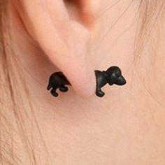 One Piece Sweet Dog Earring For Women