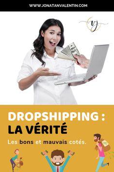 Le dropshipping est une méthode d'exécution des commandes qui n'exige pas qu'une entreprise tienne des produits en stock. Au lieu de cela, une boutique en ligne vend le produit et transmet la commande client à un fournisseur externe, qui expédie ensuite la commande au client. Cependant, contrairement à la croyance populaire, le dropshipping n'est pas : soyez-riche-rapidement.