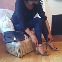 Sandales ou escarpins?☀️