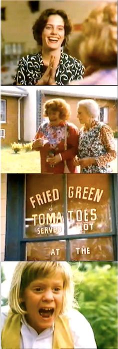 Movies In Frames Green Toms, Green Tomato Recipes, Fried Green Tomatoes, Fries, Tv Shows, Actors, Funny Stuff, Movie, Funny Things