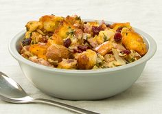 Bacon, Cranberry and Almond  Stuffing recipe - Easy Countdown Recipes