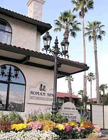 Calistoga Hotel and Spa - Roman Spa Hot Springs Hotel Offers a Relaxing Napa Valley Spa Vacation.