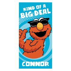 Sesame Street Big Deal Elmo Beach Towel
