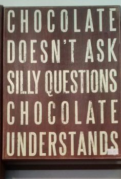 Yessss! Forever chocolate wasted