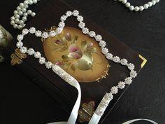 Rhinestone Wedding Headband Bridal Hair Accessories by alarastore