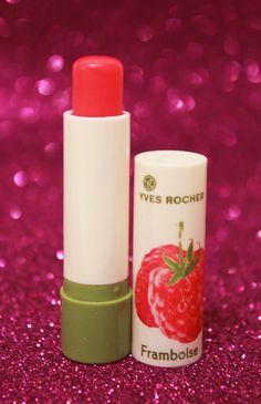 Review del bálsamos de labios frambuesa de Yves Rocher