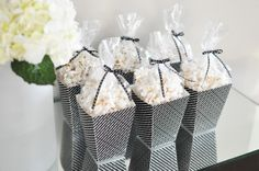 Popcorn is oh-so stylish with this PACKAGING - love!