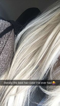 Hair color I decided on