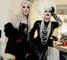 Sharon Needles and Alaska Thunderfuck