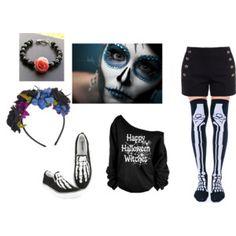 Sugar Skull Sugar Skull, Shoe Bag, Polyvore, Stuff To Buy, Shopping, Collection, Design, Women, Fashion