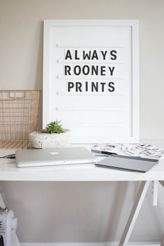 Always Rooney shares insightful tips on growing your Etsy shop, home decor and DIY projects.