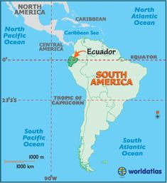 Map of Ecuador – Ecuador South America, Ecuador Map, Mapa de Ecuador - Worldatlas.com