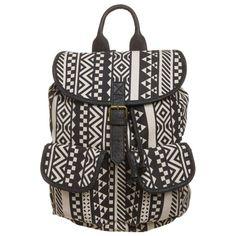 Cooler Rucksack mit Aztekenmuster ab 39,99 € <3 Hier kaufen: http://www.stylefruits.de/rucksack-mit-aztekenmuster-evenundodd/p5079841 #rucksack #muster