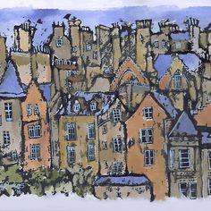 Edinburgh painting